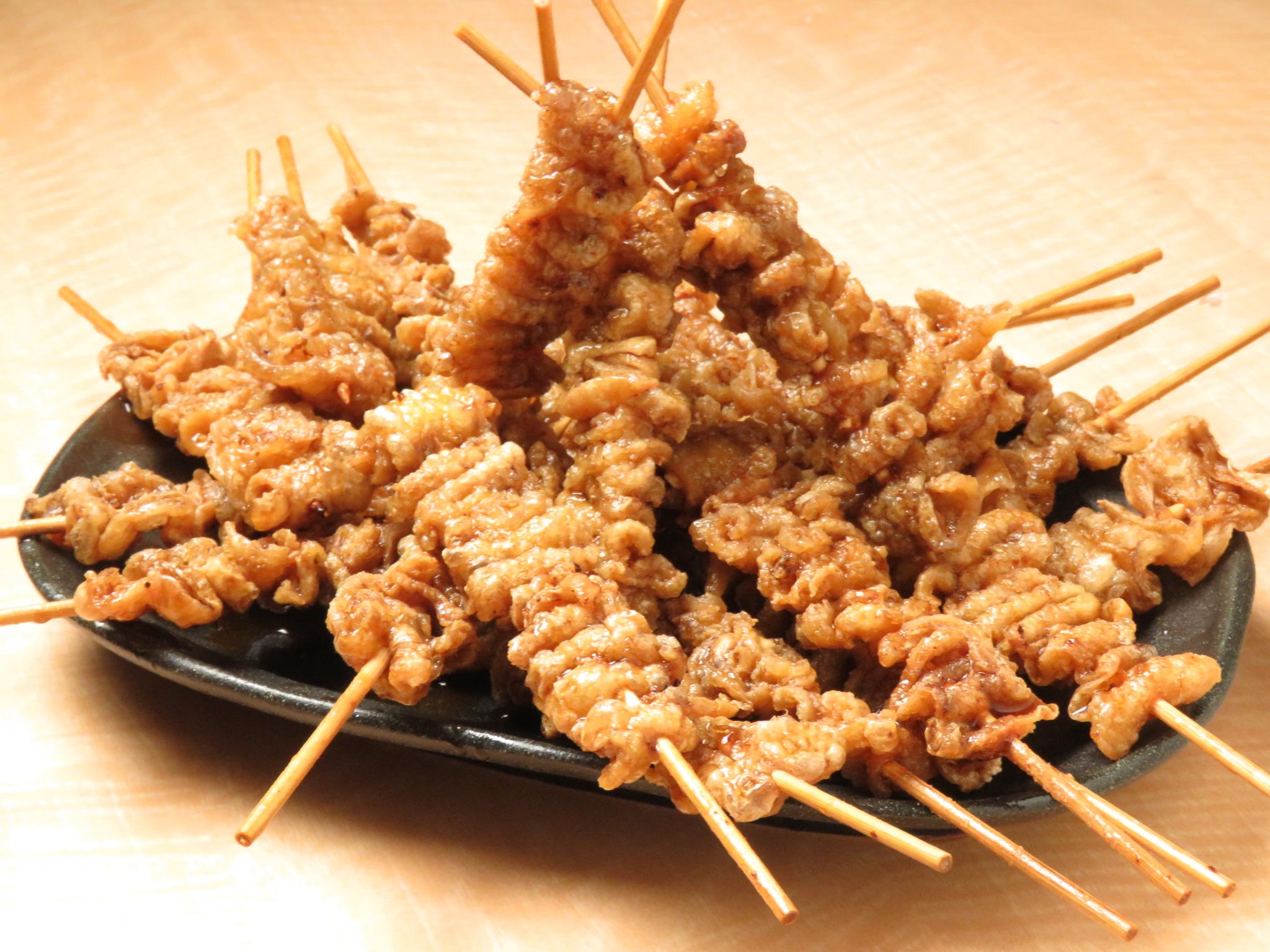 経堂の鶏料理専門店[とりいちず]の絶品とり皮